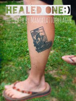healed tattoo tarot