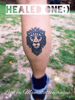 healed tattoo lev
