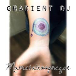 dot gramofon tattoo
