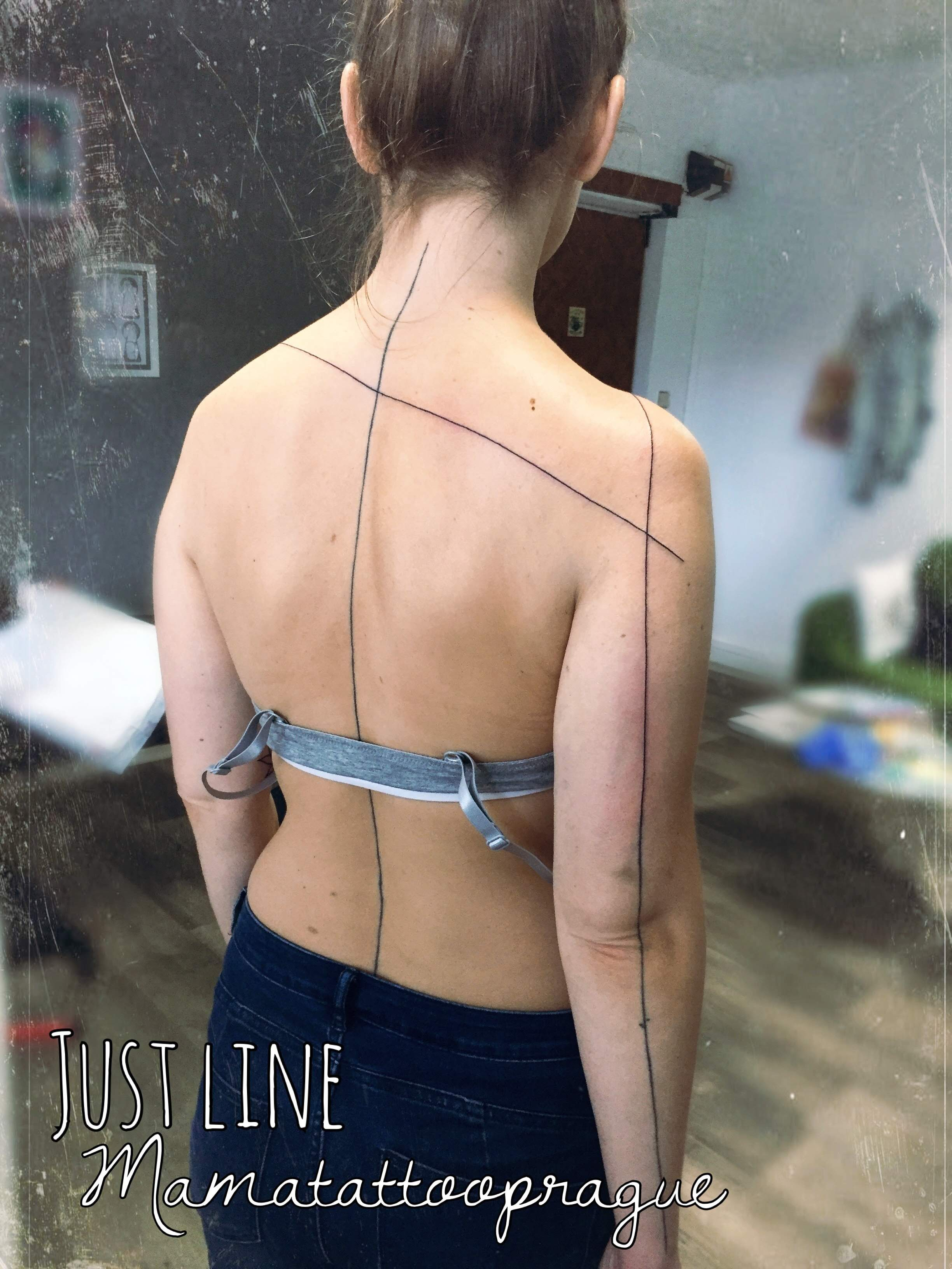 back line tattoo