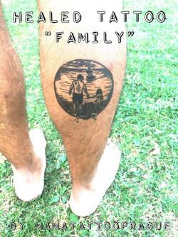 healed tattoo rodina