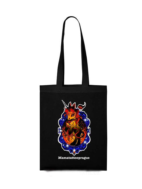 Shopping bag Scary Unicorn