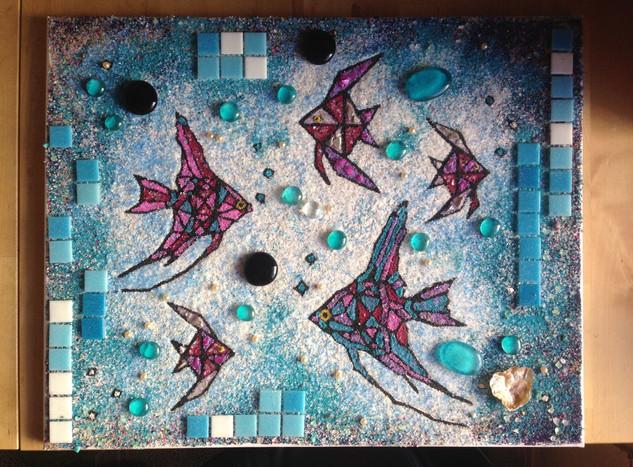 mozaika Ryby