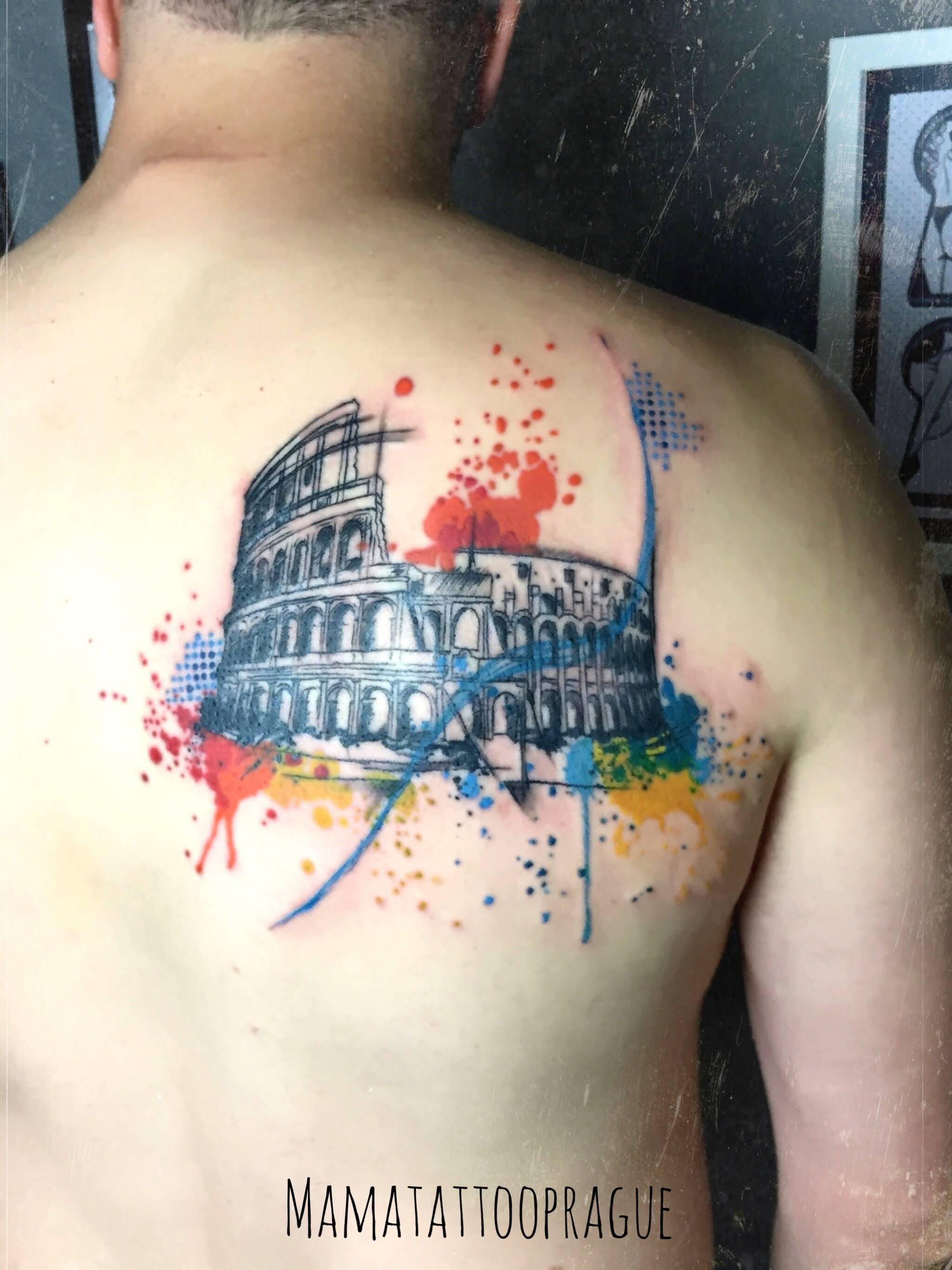 colloseum tattoo