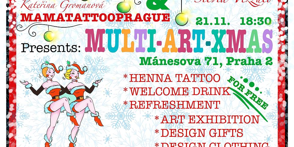 Multi Art X mas - Mamatattooprague / Arttogether