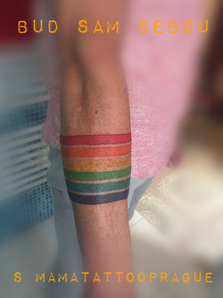 tattoo peace flag