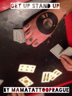 tattoo deska