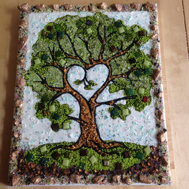 mozaika strom