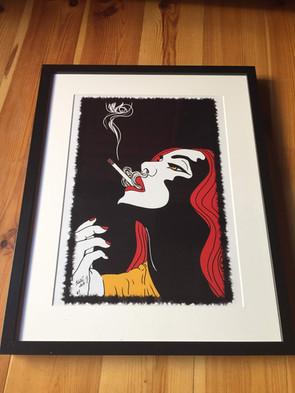 grafika smoke