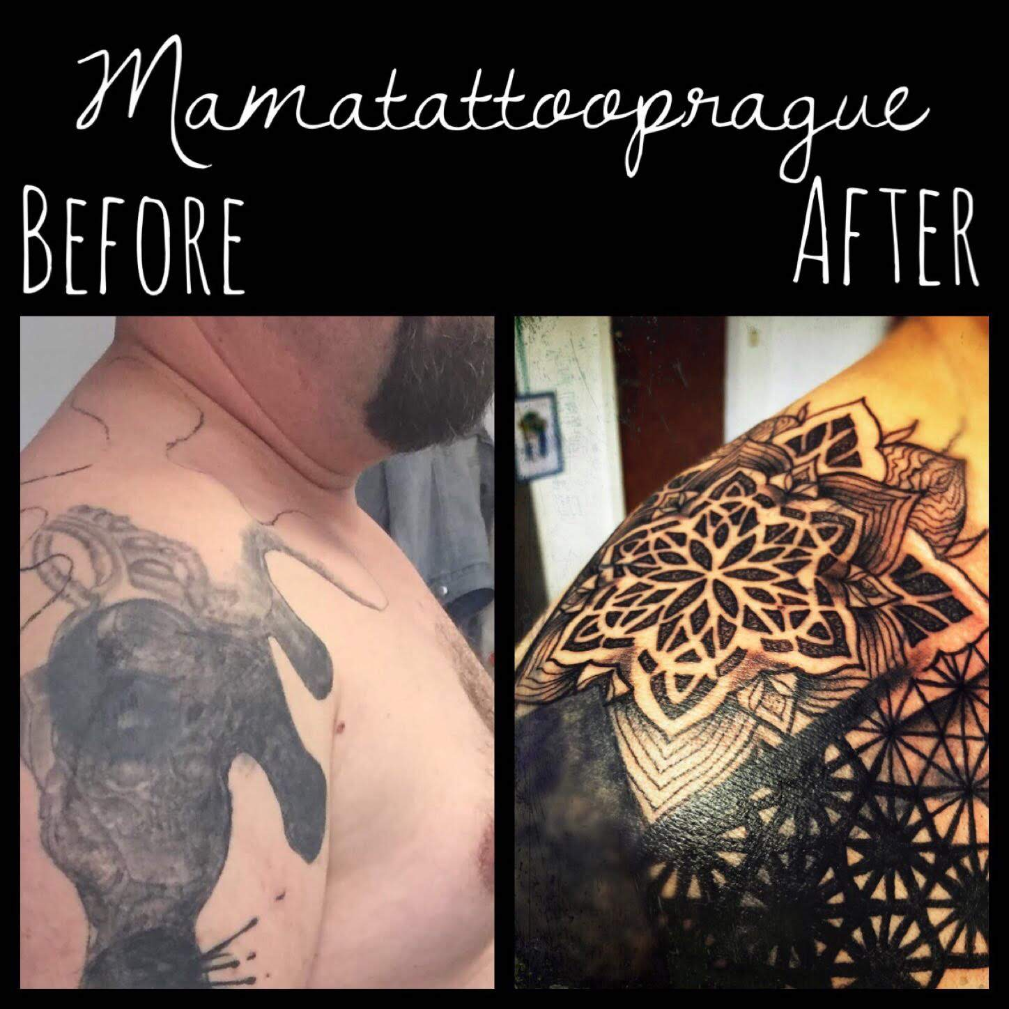 mandala cover up tattoo