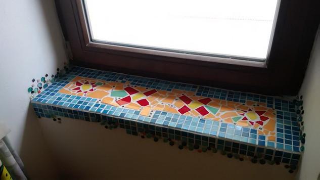 mozaika mexicky parapet