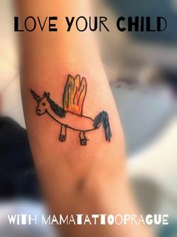 detsky obrazek tetovani