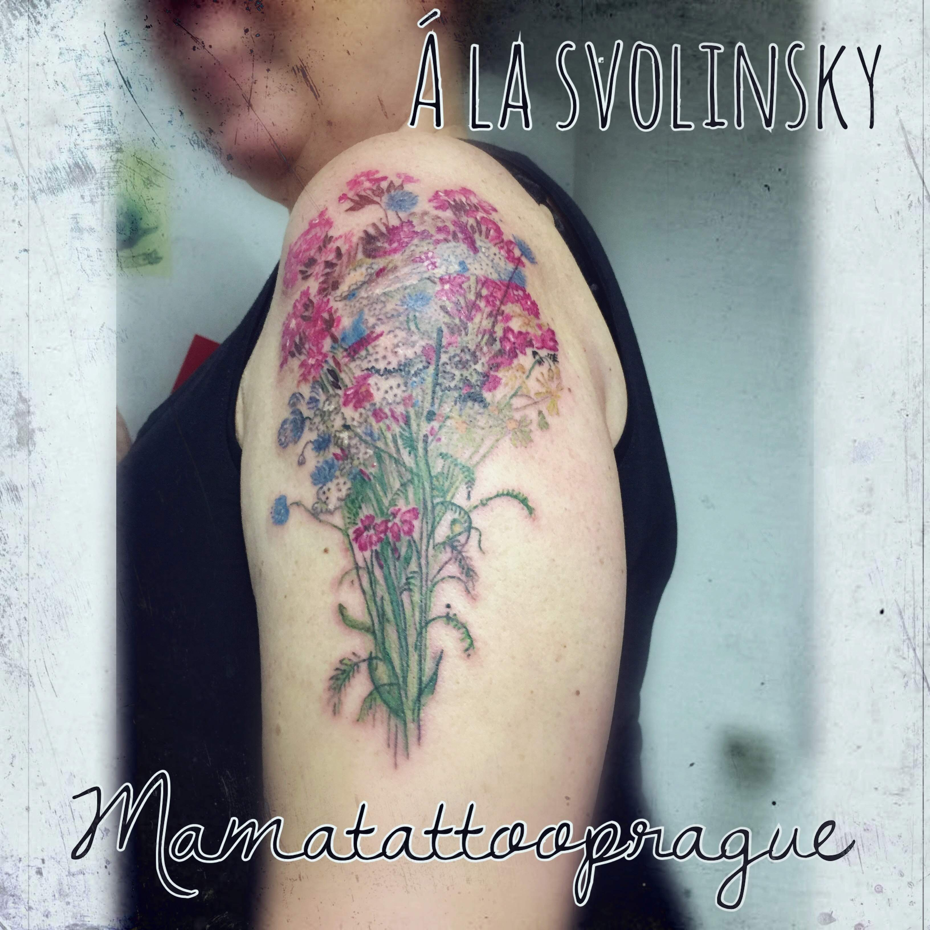 flowers tattoo