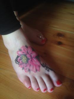 tattoo lotos