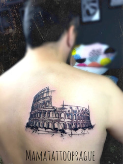 fine line tattoo