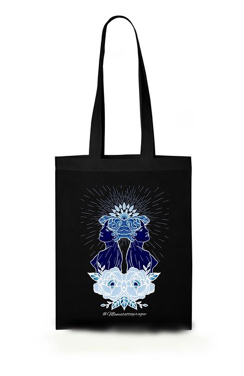 Designová taška Twins - Black, White