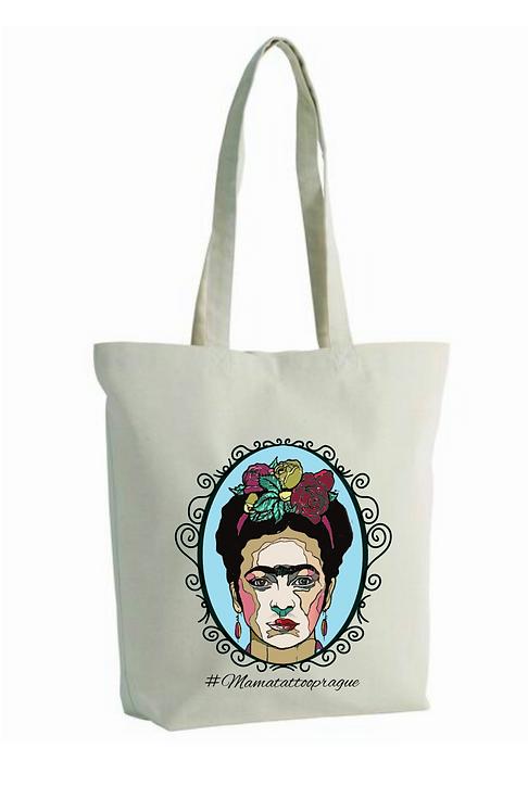 Designová taška Frida v bílém
