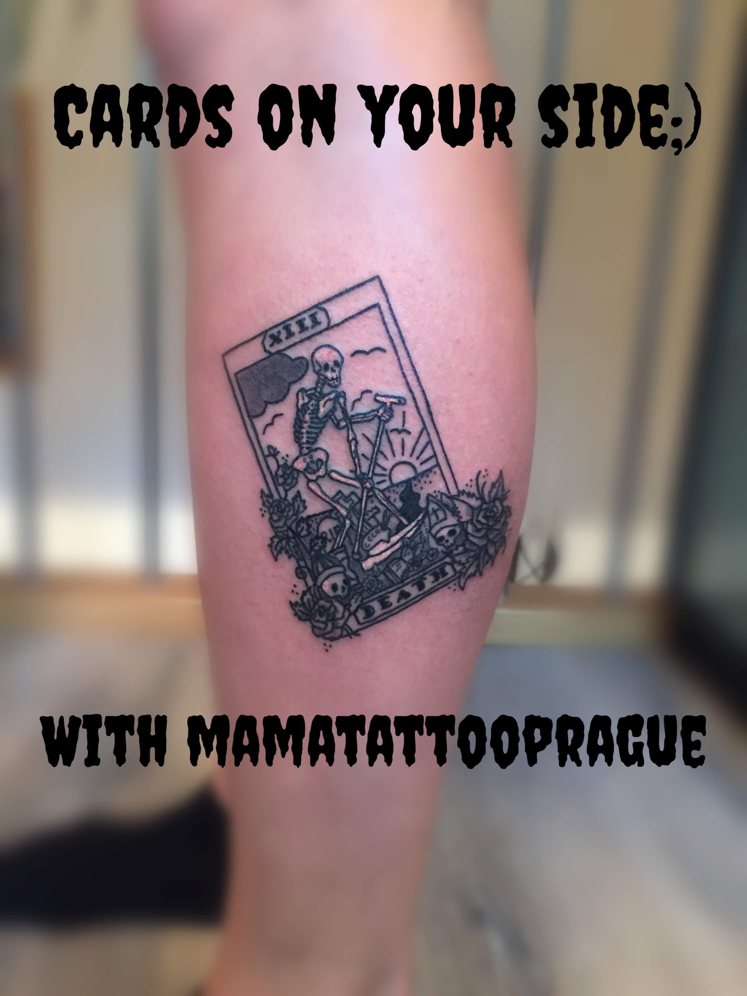 tetovani tarot smrt