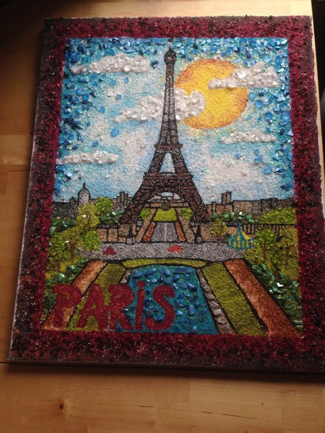 mozaika Paříž