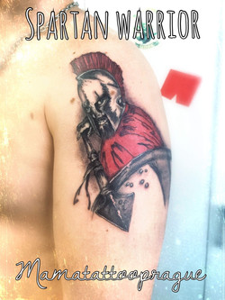 tattoo warrior