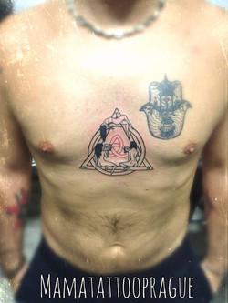 line tattoo