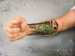 hulk tattoo
