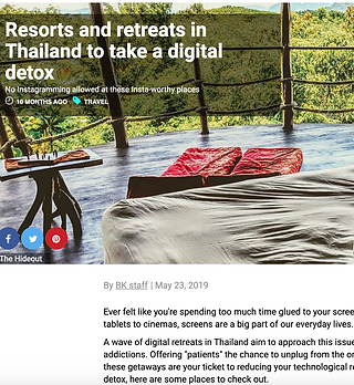 SG magazine-digital detox-thailand-hideo