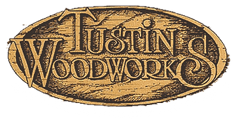 Tustin Woodworks Logo Adjusted with whit