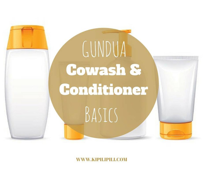 GUNDUA CO-WASH / CONDITIONER BASICS