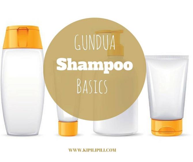 GUNDUA SHAMPOO BASICS