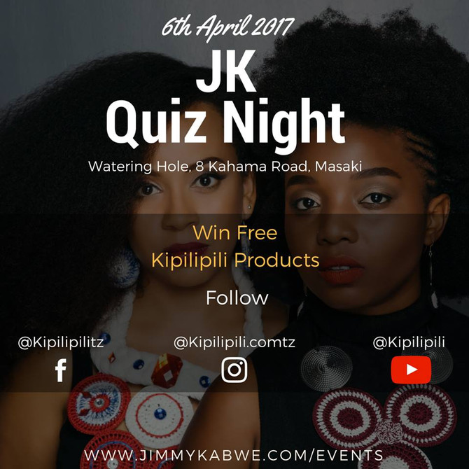 JIMMY KABWE QUIZ NIGHT