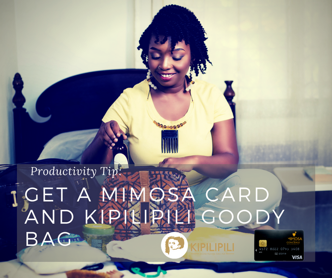 KIPILIPILI TEAMS UP WITH MIMOSA CONCIERGE