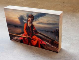 פוטו קיוב - הדפסה על בלוק עץ