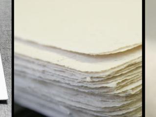 אלבום מודפס על נייר כותנה