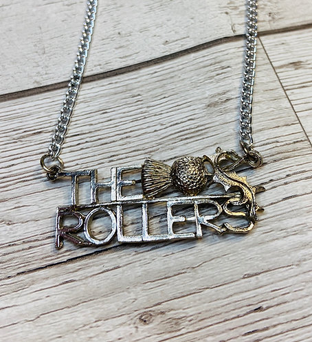 Vintage Bay City Rollers Necklace