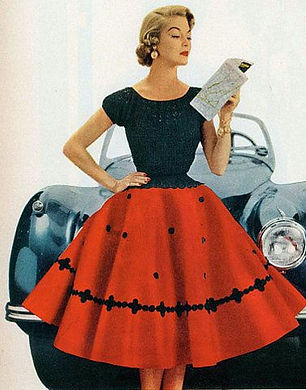 1950s fashion model | 50s Fashion | 50s Clothing | 50s Dresses