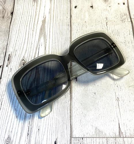 1970s Vintage Jean Patou Square Retro Sunglasses