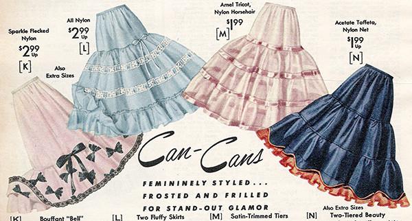 Vintage Petticoats | Vintage Net Underskirts | Vintage Clothing