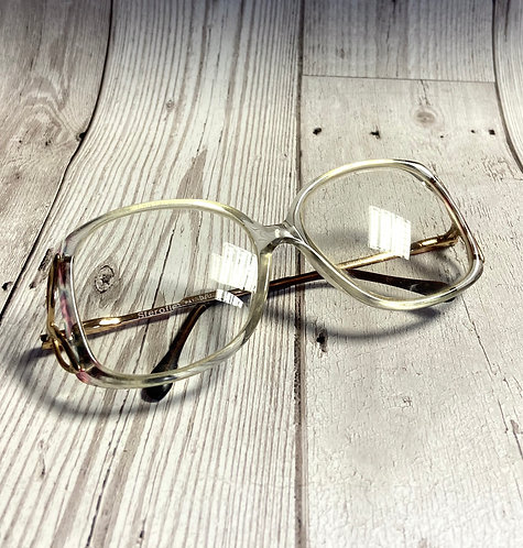 Vintage Chunky Square Glasses/Spectacles Retro Frames