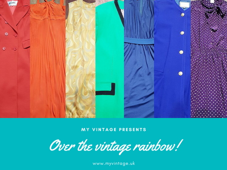 Over the Vintage Rainbow!