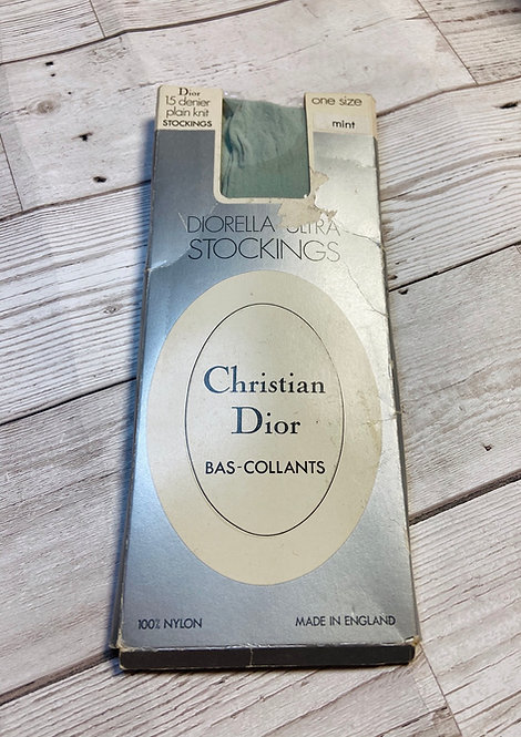 Vintage Christian Dior Diorella Stockings