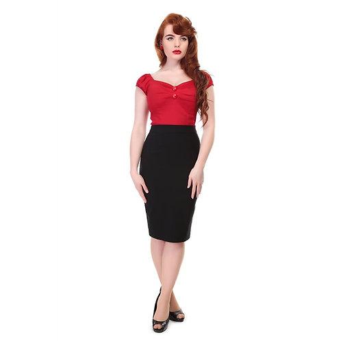 Vintage Style Skirt | Retro Pencil Skirt | 50s Style Skirt | Rockabilly Style