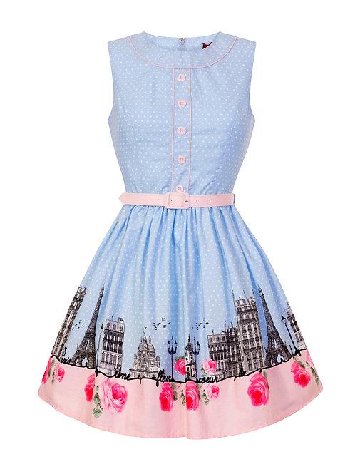 Vintage Style Dress | Retro Dress | 50s Style Dress | Rockabilly Dress