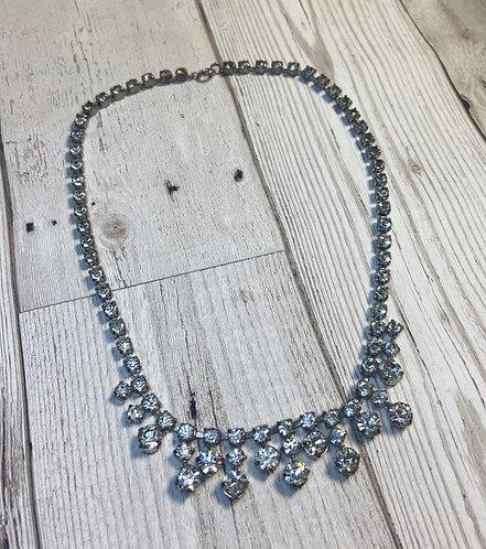 1950s Vintage Full Diamanté Necklace