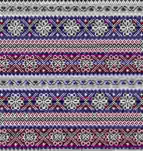 Fair Isle | Vintage Fabric | Fashion Blog
