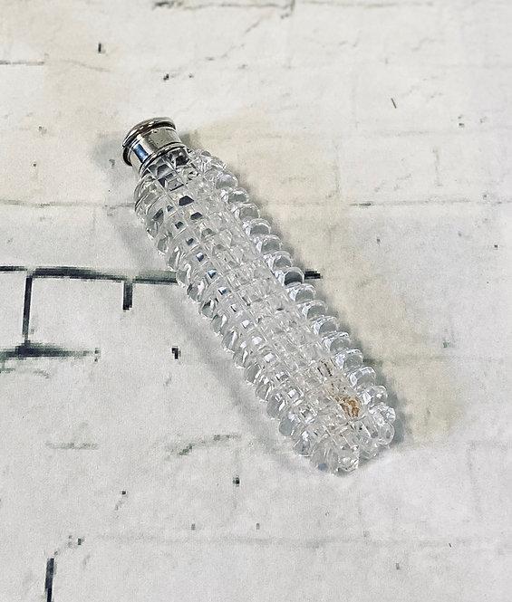 Vintage Slim Cut Glass Cologne Bottle