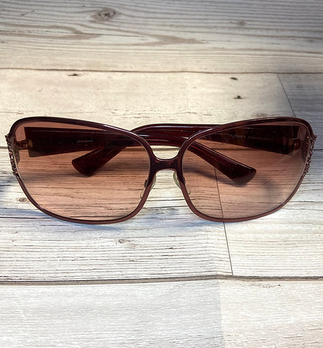 Vintage YSL Oversized Rectangular Designer Sunglasses