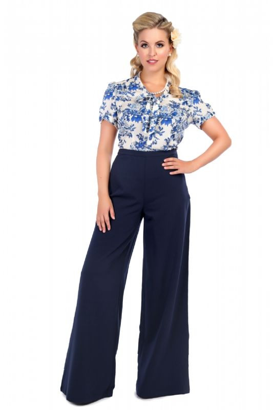 Vintage Style Trousers | Retro Trousers