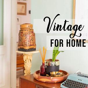 Vintage Homeware | Vintage for the Home | Retro Homeware | Retro Home | Vintage Home Decor | Retro Home Decor
