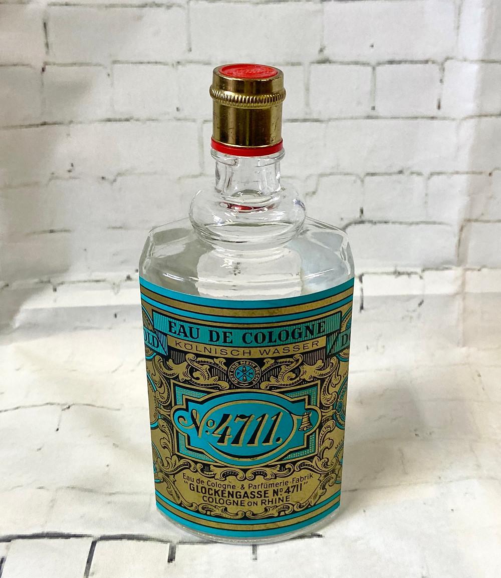 Large Kolnisch Wasser 4711 Cologne Bottle